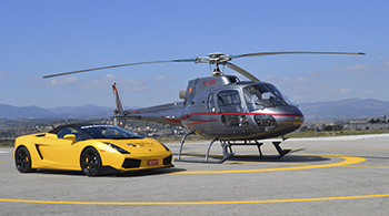 Helicopter & driving